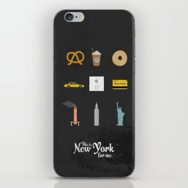 """This is New York for me. """"All"""" iPhone Skin"""