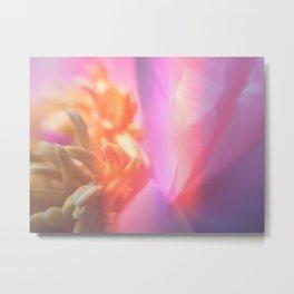 Kaleidoscopic Petals Metal Print