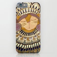 Regal Cat Lady of the Fall Harvest Moon iPhone 6s Slim Case