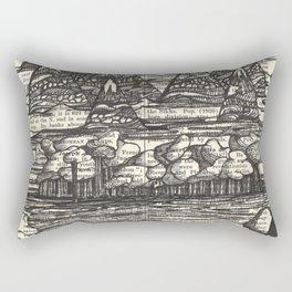 Doodle View Rectangular Pillow