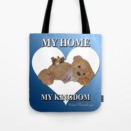 My Home, My Kingdom - Blue Tote Bag