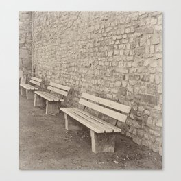 Saving a Seat for You Canvas Print