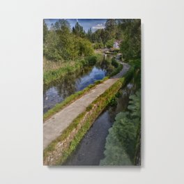 Causeway To The Chequers Metal Print