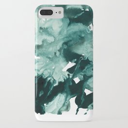 inkblot marble 4 iPhone Case