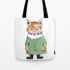 Bear Fox Tote Bag