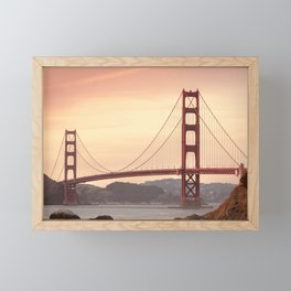 Golden Gate Bridge San Francisco Framed Mini Art Print