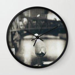 Broaden your horizons Wall Clock