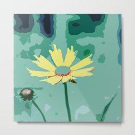 Wildflower Tickseed Coreopsis Metal Print