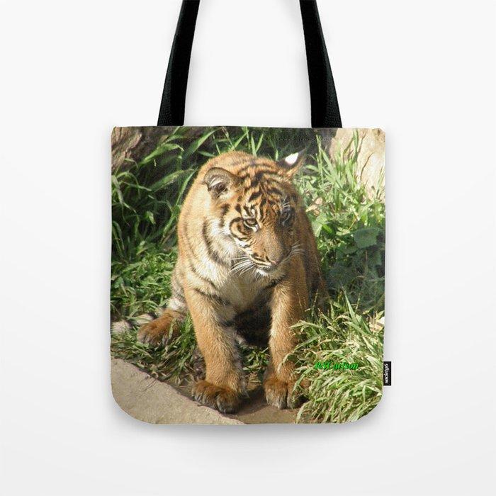Young Tiger Tote Bag