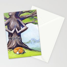 Kitsune & Kodama Stationery Cards