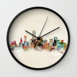 dallas texas Wall Clock