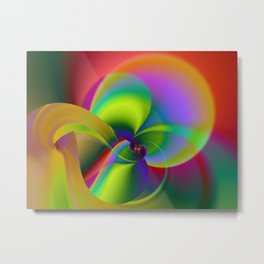 Orchid Digital Metal Print