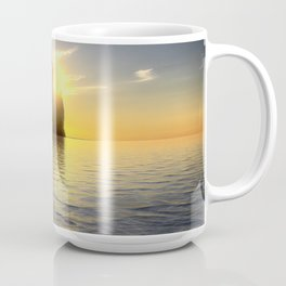 Pictured Rocks Sunset Coffee Mug