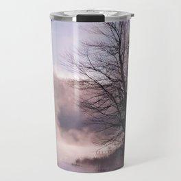 Rays in the Mist Travel Mug