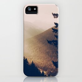 Sunrise in the Mountains  iPhone Case