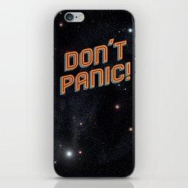 Don't Panic iPhone Skin