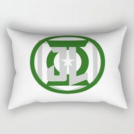 Green Space Cops 2 Rectangular Pillow