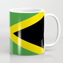 Flag of Jamaica-Jamaican,Bob Marley,Reggae,rastafari,weed,cannabis,ganja,america,south america,ragga Coffee Mug
