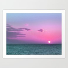 Break of Day Art Print
