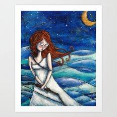Orion's Fate Art Print