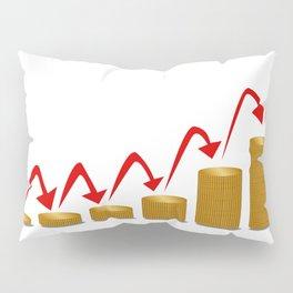 Rising Money Steps Pillow Sham