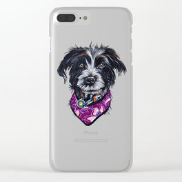 Sasha Clear iPhone Case