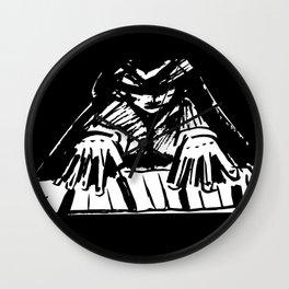 Jazzman Wall Clock