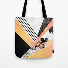 Geometric Summer Tote Bag
