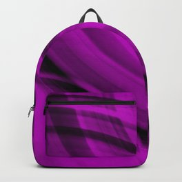 Ellipse intersecting glamorous lines with blurred ovals of bright rings. Backpack