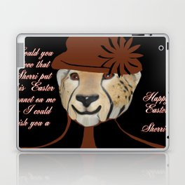 COULD YOU BELIEVE SHERRI MADE ME PUT ON THIS SILLY BONNET Laptop & iPad Skin