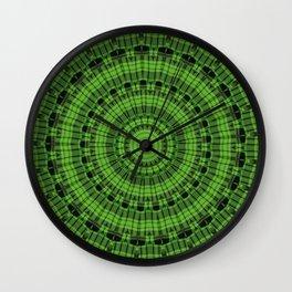 Regardlossly Plaid Mandala 5 Wall Clock