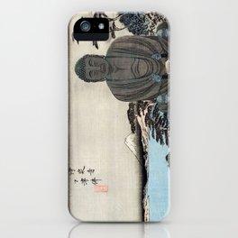 Ukiyo-e, Ando Hiroshige, KAMAKURA DAIBUTSU iPhone Case