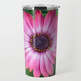 Flower Portrait - Pink Sunshine Travel Mug
