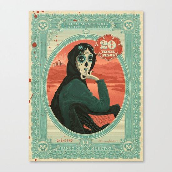 Señora Lavery Canvas Print