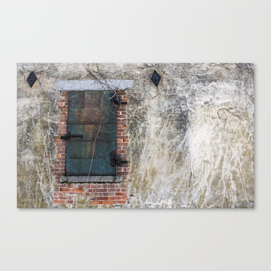 Dark Window Canvas Print