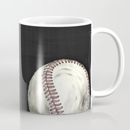 Vintage Baseball Art Coffee Mug