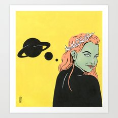 Hex Art Print