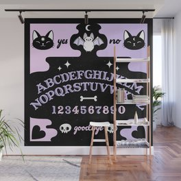 Cute Ouija // Pastel Wall Mural