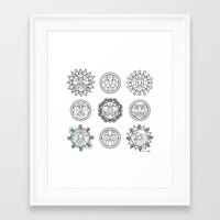 astrology Framed Art Prints featuring Astrology 3 by Karthik