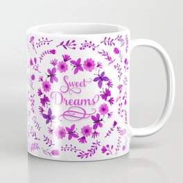 Sweet Dreams - Purple Pink Coffee Mug