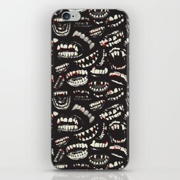 Monster Mouths iPhone Skin