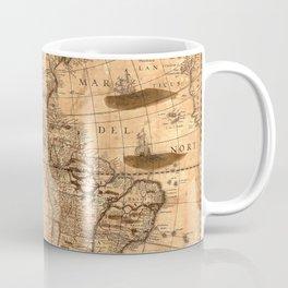 Map Of America 1641 Coffee Mug
