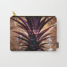 Copper Leaf Pineapple Art #buyart Carry-All Pouch