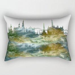 Amsterdam Skyline Holland Rectangular Pillow