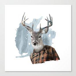 The Woodsman Canvas Print