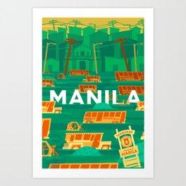 Baha Manila Art Print