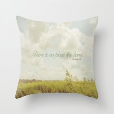 There is no place like home -The Wizard Of OZ Throw Pillow