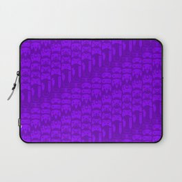 Video Game Controllers - Purple Laptop Sleeve