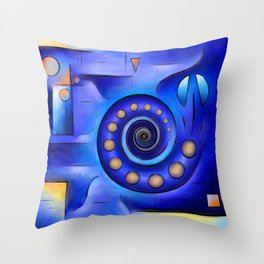Grefenissa V1 - space art Throw Pillow