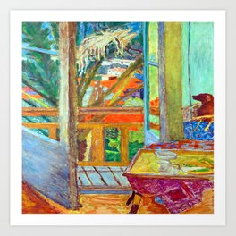 Pierre Bonnard French Window Art Print